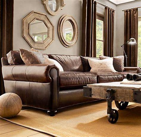 modelos de sofas em couro  se inspirar