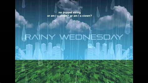 maxwell fenton rainy wednesday youtube