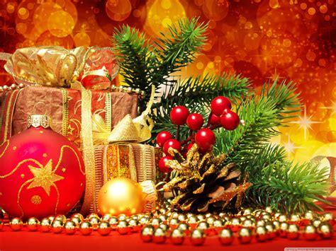 Beautiful Christmas Arrangement 4k Hd Desktop Wallpaper