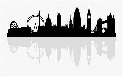 London Skyline Silhouette Royalty Clipart Transparent Clipartkey