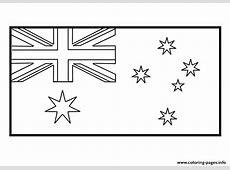 Australian Flag Outline wwwimgkidcom The Image Kid