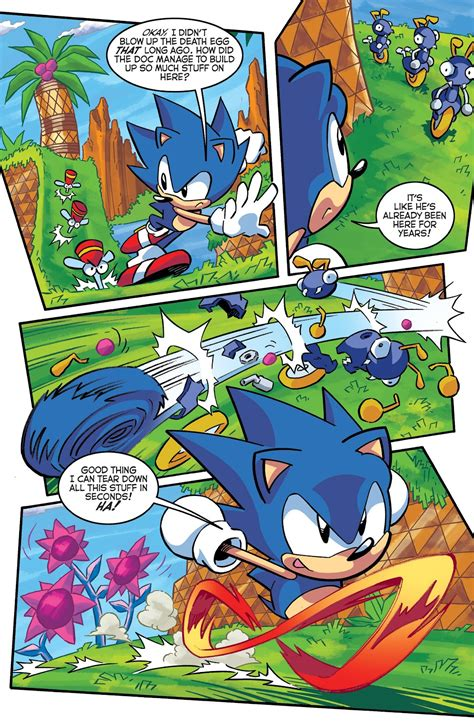 Comic Sonic The Hedgehog (1993) issue 290