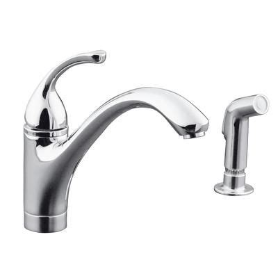 kohler fort 233 single control kitchen sink faucet with