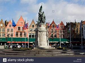 In the Grote Markt, or Market Square, in Brugge (Bruges ...