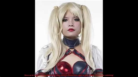 Harley Quinn Cosplay Wig And Makeup For Harley Quinn