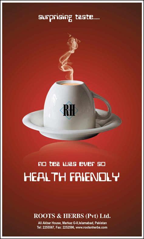 advertisement tea ads