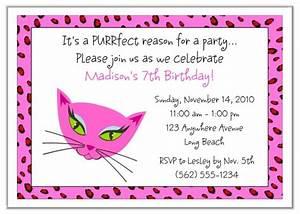 Graduation Party Invite Diva Kitty Cat Birthday Party Invitations Diva Kitty