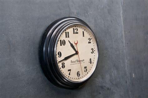 1920s Saltoon Town Hall Wall Clock
