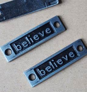 3510mm craft supplies wholesale letter of believe With vintage metal letters wholesale