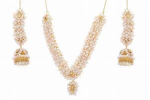 Buy NATURAL PEARLS SET FROM HYDERABAD JEWELS Online