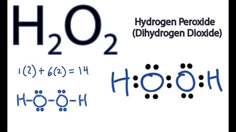 H2co Dot Diagram by H2o2 Lewis Structure How To Draw The Dot Structure For