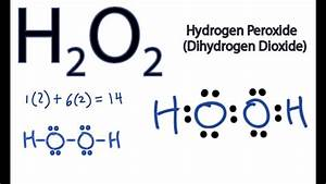 Dot Diagram Of H2o2
