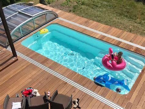 pool mit filteranlage gfk pool rechteckig schwimmbecken mit zubeh 246 r set filteranlage beleuchtung fertigbecken in