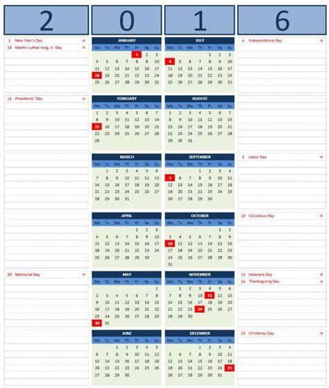 microsoft excel calendar template 2016 calendar templates microsoft and open office templates