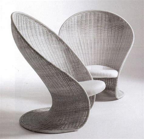 chaise en rotin gris le fauteuil en rotin les meilleurs modèles archzine fr