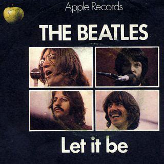 Let It Be The Beatles  1970  Seventies Music