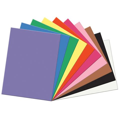 Sunworks Construction Paper 9x12 Assorted Pac6504