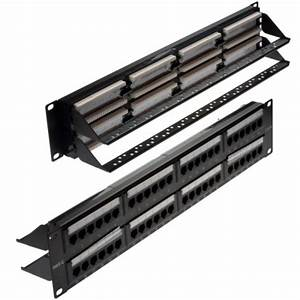 48 Port Cat 5e Patch Panel From  U00a329 00