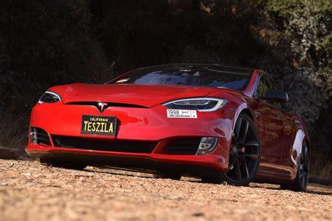 Stock 2016 Tesla Model S P100d Ludicrous 1/4 Mile Trap