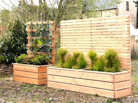 Sichtschutz Garten Doppelhaus by Charmante Ideen Sichtschutz Gabionen Mit Holz Und