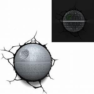 Lampe Star Wars : star wars lampe d corative 3d etoile noire achat vente applique cdiscount ~ Orissabook.com Haus und Dekorationen