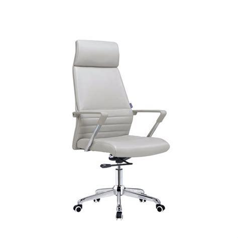 china manufacturer low price high back white leather
