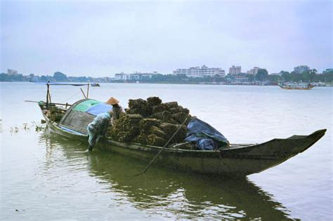 Small Boat Song by Wooden Work Boats Of Indochina Cambodia Laos