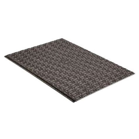 patio materials home depot 20 04 in x 36 in black brock paver base panel pvb5b