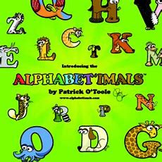 Introducing The Alphabetimals By Patrick O'toole Children