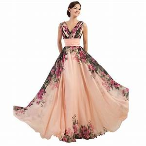 prom dress 3 designs wedding one shoulder flower pattern With floral print dresses for weddings