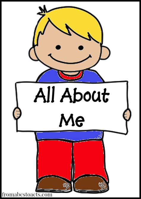 all about me preschool theme from abcs to acts 849 | All About Me