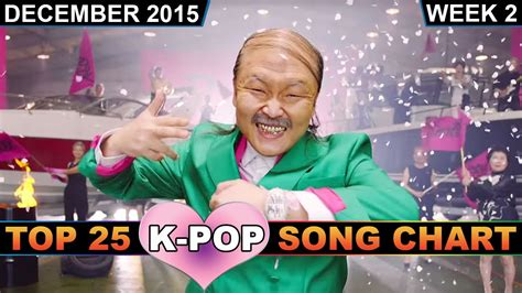 Kpop Song Chart [top 25]  Kville's Choice (december