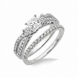 Antique Style Wedding Ring Set On JeenJewels