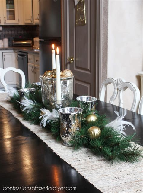 holiday dining table centerpiece confessions   serial