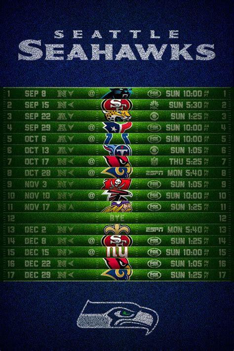 seahawks schedule phone wallpaper seahawks