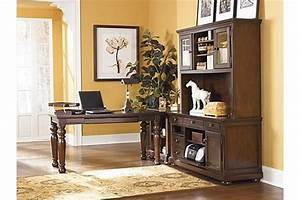 The porter credenza from ashley furniture homestore afhs for Ashley furniture home office collection