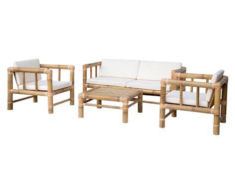 canape bambou salon de jardin bohol ii en bambou 1 canapé 2 places 2