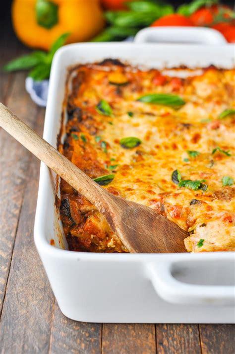 quick  easy vegetable lasagna recipelioncom