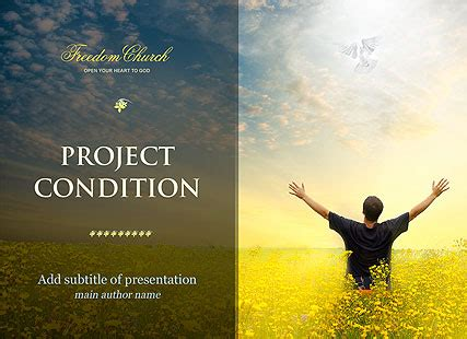 church project microsoft powerpoint template id