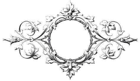Stunning Scrolls Frame Image!