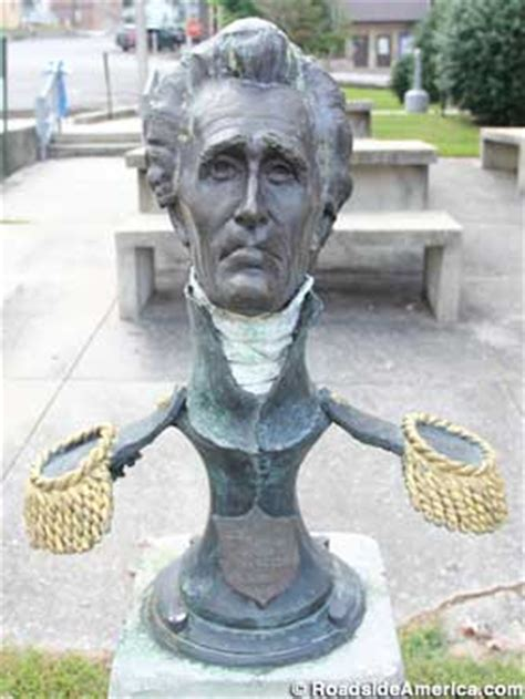 strange head  andrew jackson gainesboro tennessee