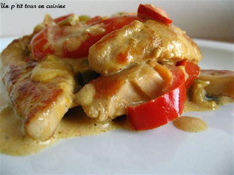 cuisiner les poivrons rouges recette escalopes de dinde aux poivrons et à la crème 750g