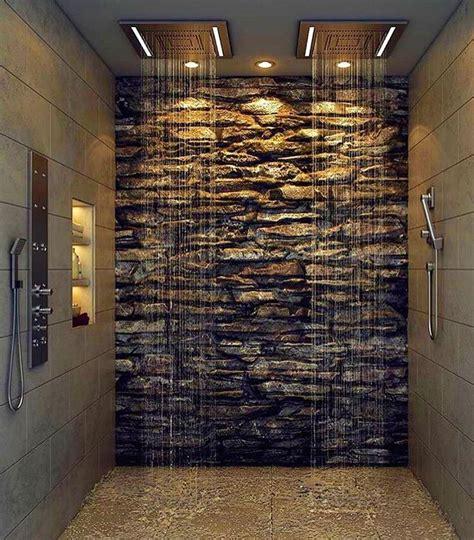 bathroom shower wall ideas best 25 waterfall shower ideas on
