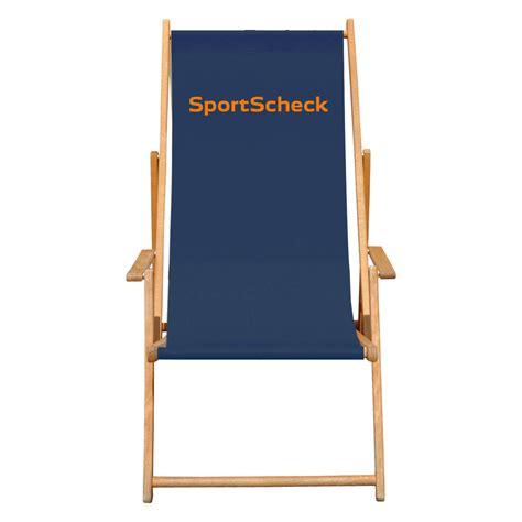 Liegestuhl Mit Werbung by Bas Liegestuhl Der Klappbare Strandstuhl Aus Holz Mit