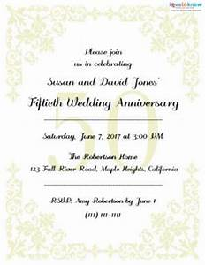 printable 50th anniversary invitations With free printable invitations for 50th wedding anniversary
