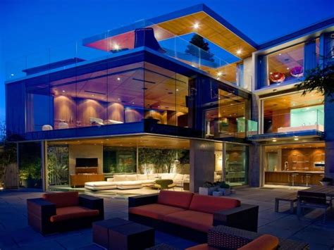 big glass homes beautiful glass house beautiful