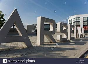 the large concrete letters spell 39arsenal39 outside the With press in letters for concrete