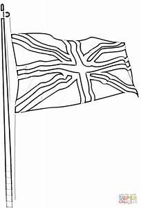 Ausmalbild Die Flagge Grobritanniens Ausmalbilder