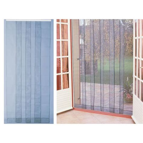 jardideco rideau de porte moustiquaire arles 100 x 220