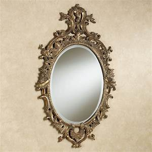 Cleopatra Oval Wall Mirror